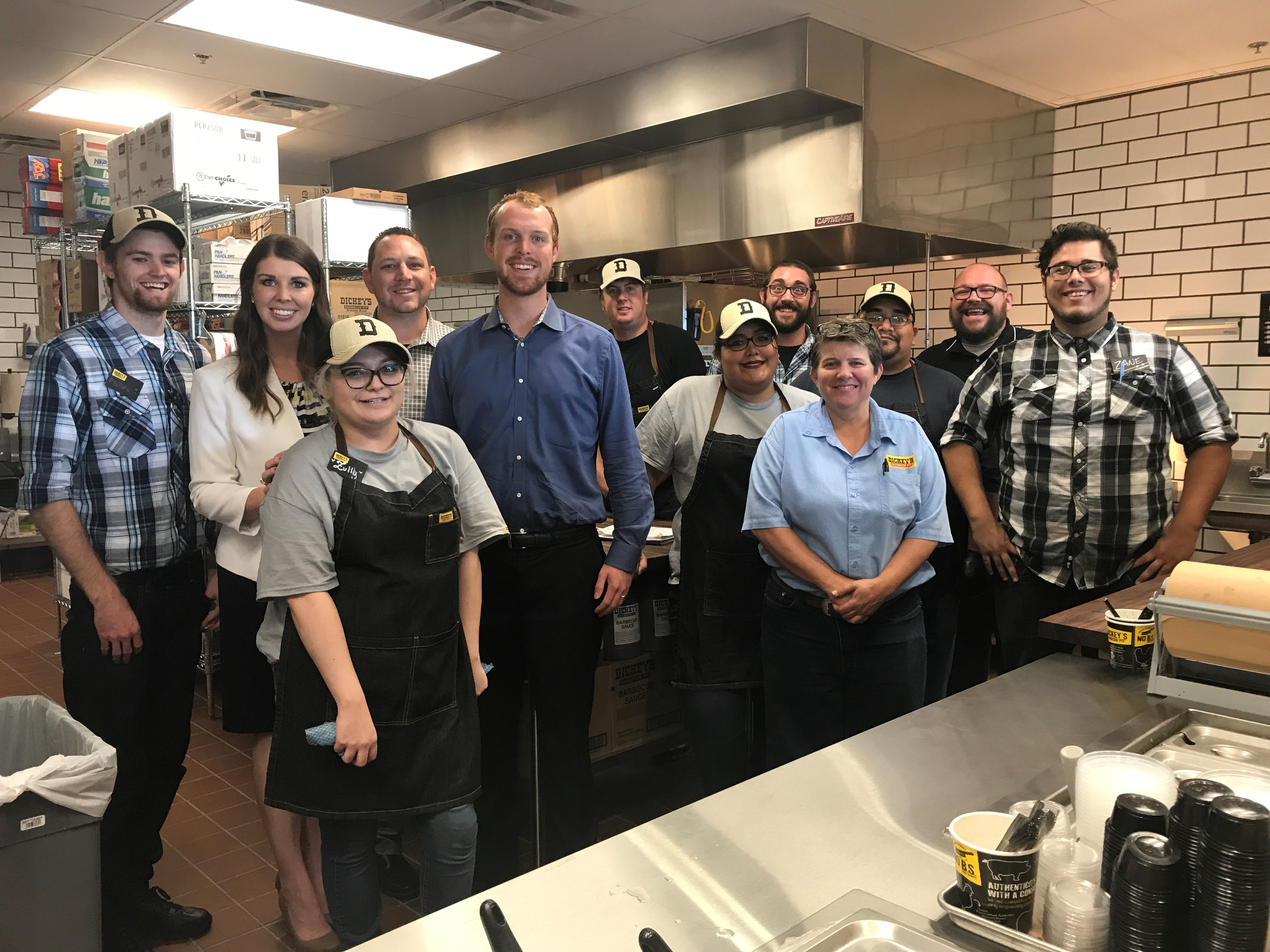 Local Entrepreneurs Bring Their Fifth Dickey's Barbecue Pit to Arizona