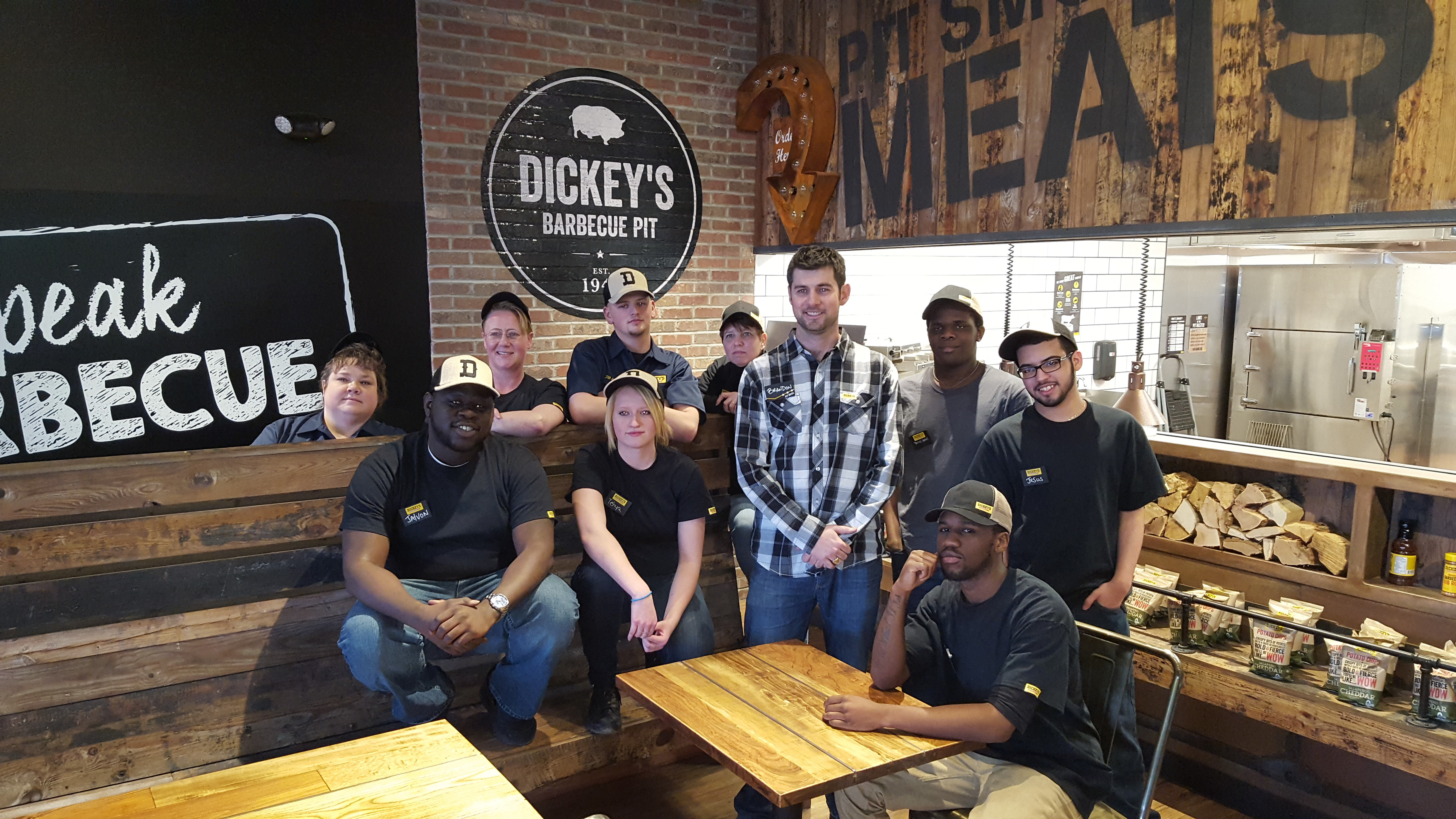 Dickey's Barbecue Pit Debuts First New Store Model Outside of Texas in Erie, PA
