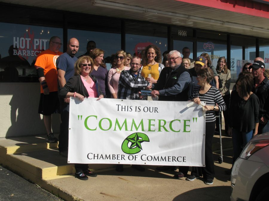 Dickey's Ribbon Cutting in Commerce