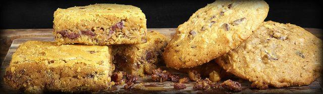 dickeys blondie and chocolate chunk cookie