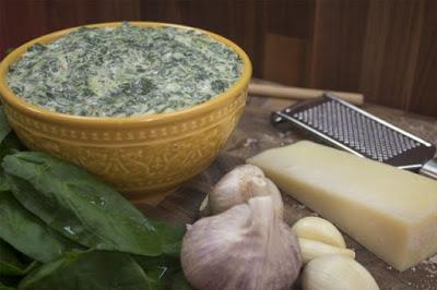 dickeys creamed asiago spinach