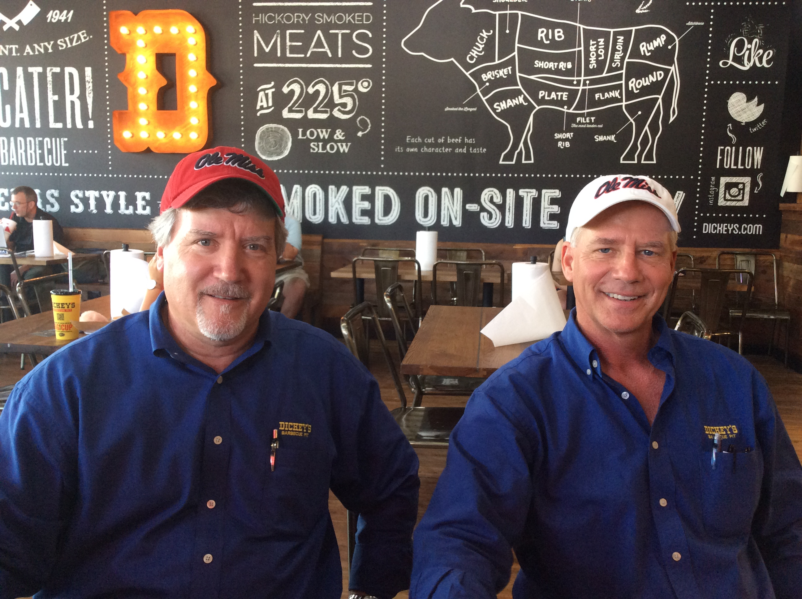 Eating Oxford: Dickey's Barbecue Pit Opens in Oxford