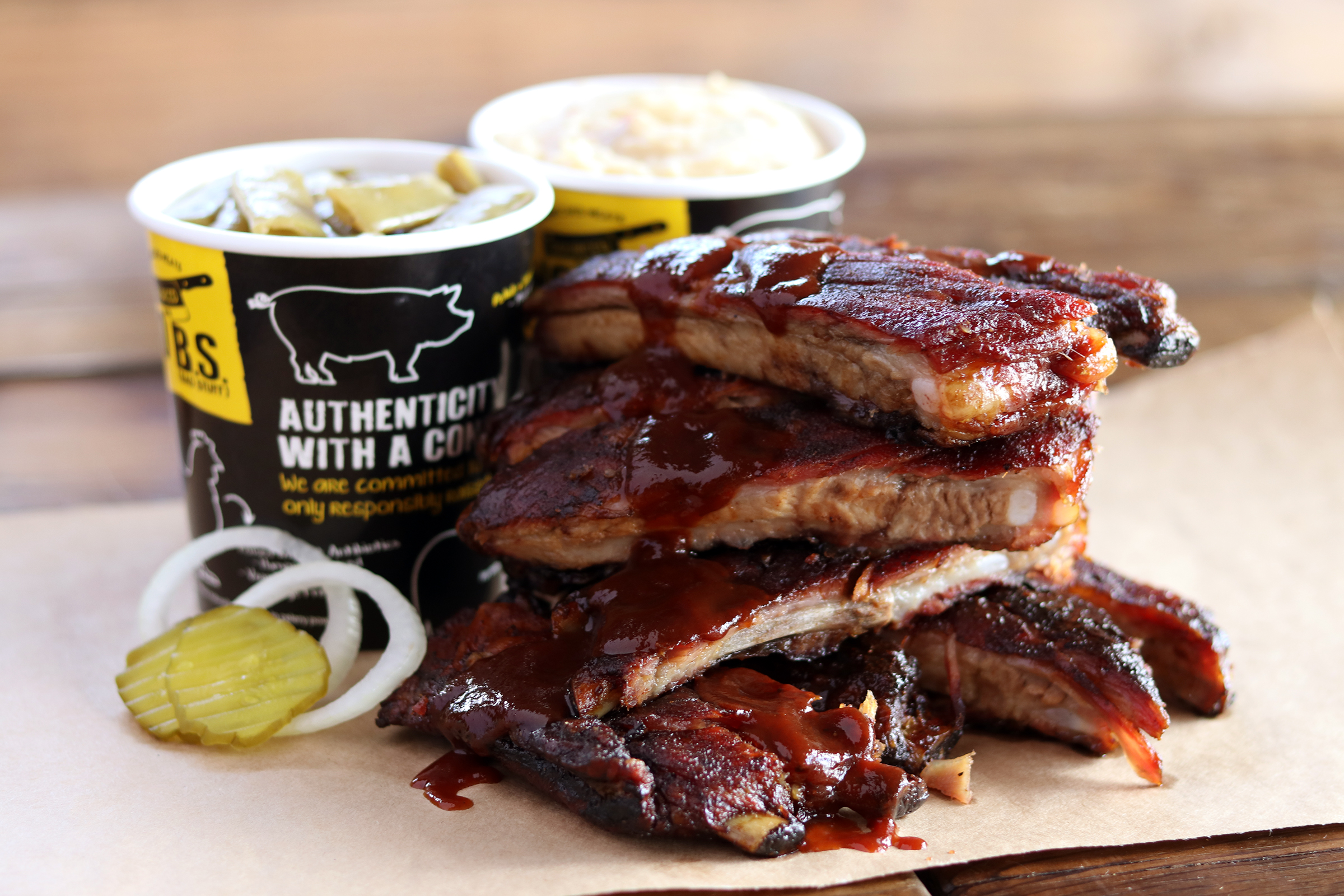 Rib Sales More than Double and Catering Spikes 25 Percent