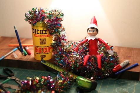 Dickey's Barbecue Pit's Big Yellow Cup Holiday Social Media Contest