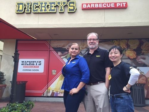 Irvine Gets a Taste of Texas with Dickey's Barbecue Pit Grand Opening