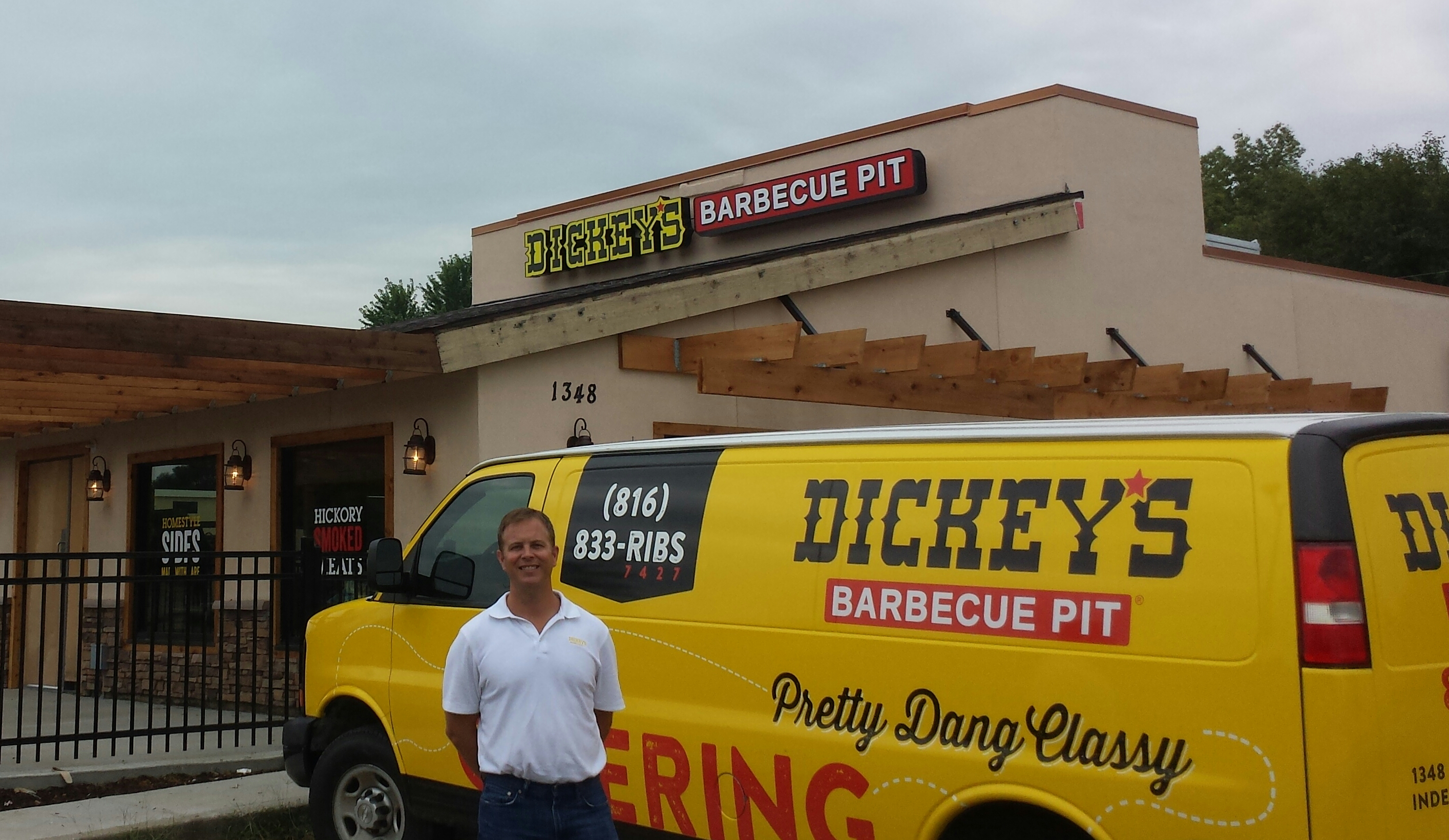 Servin' Up Some Texas-Style Barbecue: Dickey's Barbecue Pit opens new location in Wichita, KS