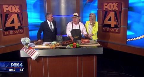 FOX 4 Dallas: Mr. Dickey appeared on Good Day in Dallas