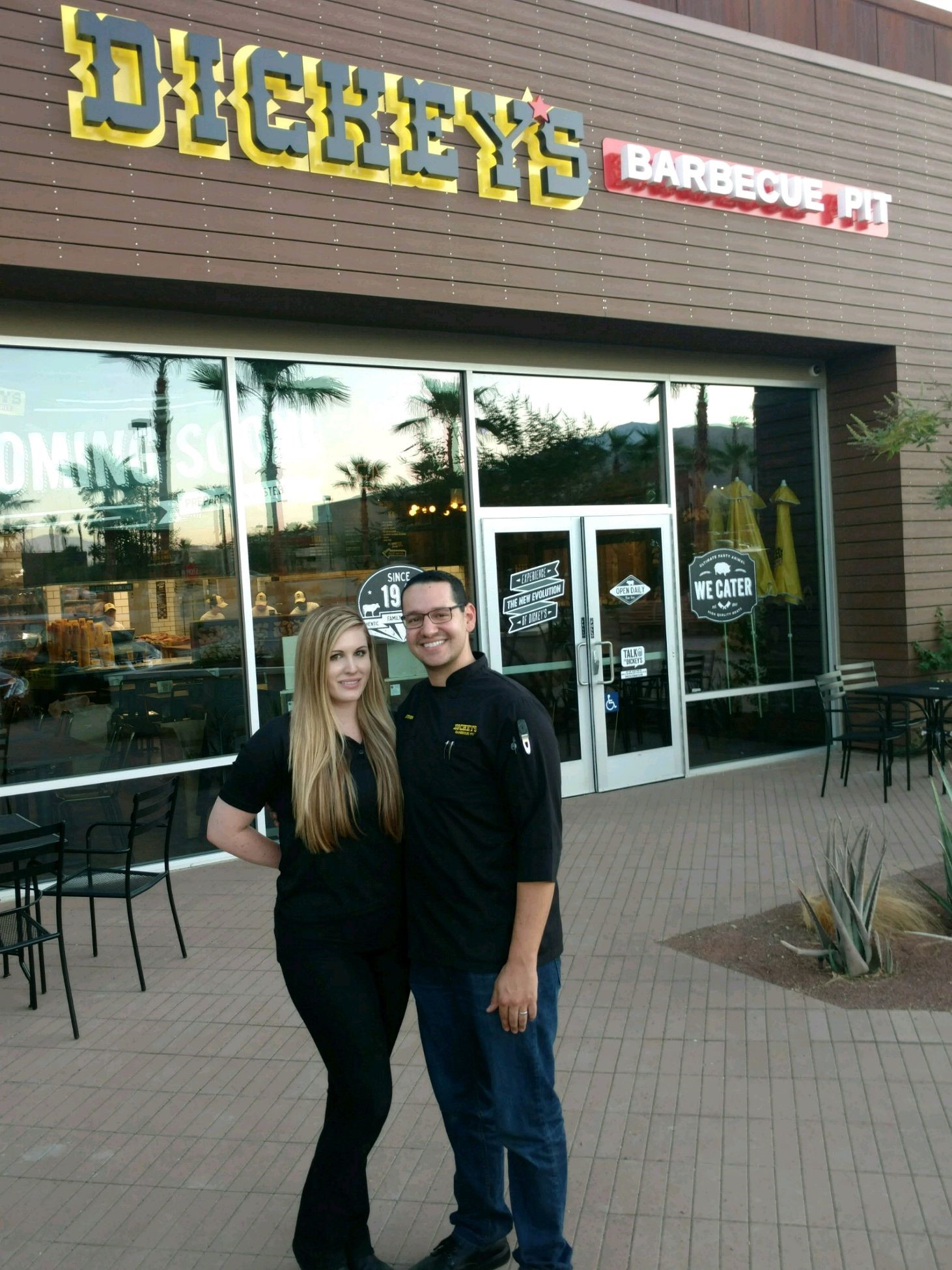 The Desert Sun: A new Dickey's Barbecue Pit opens in Rancho Mirage this week and you could win free food for a year