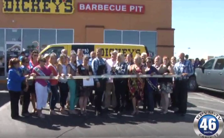 News 46: Dickey's Barbecue Pit Ribbon Cutting