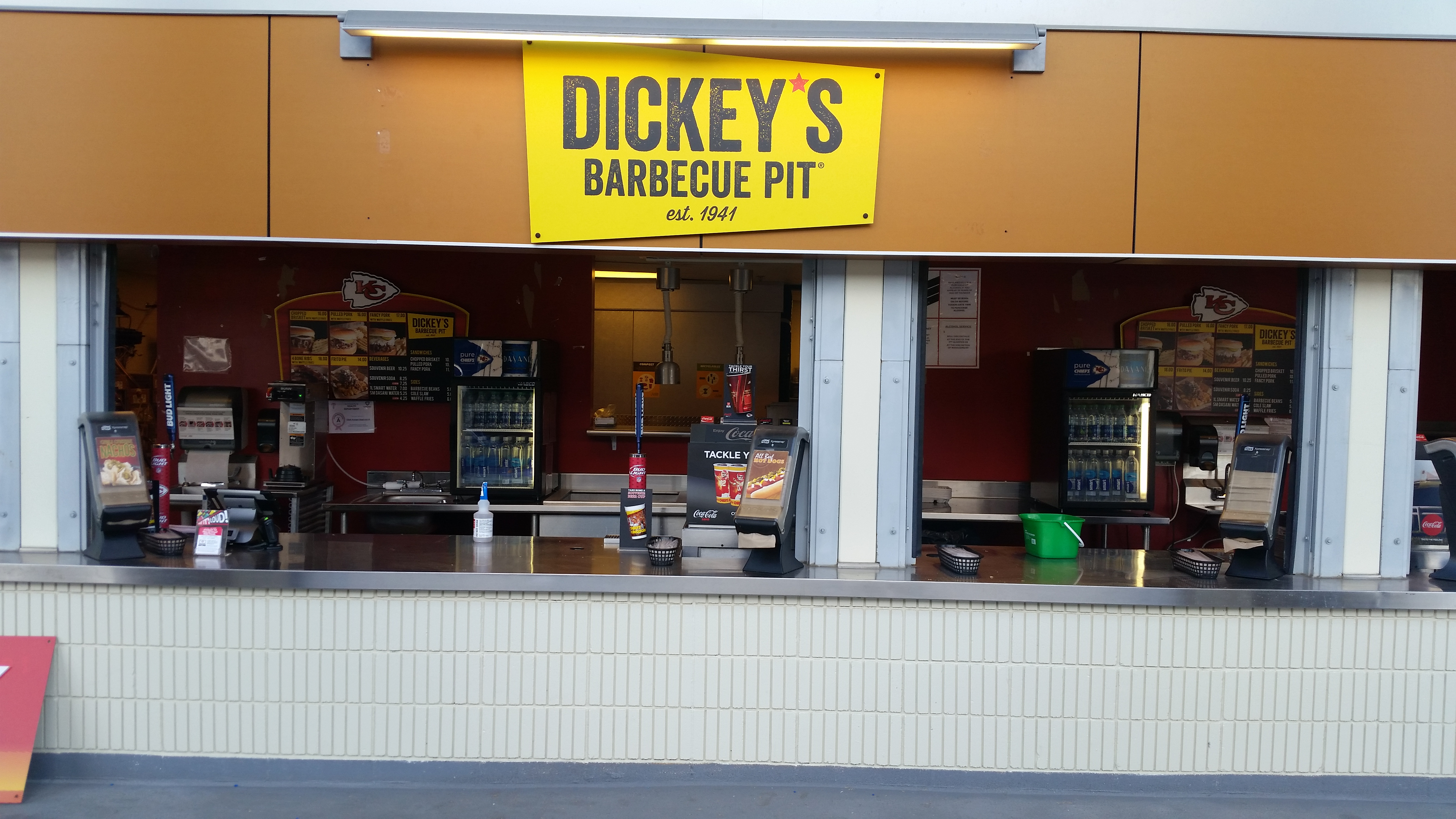 Dickey's Barbecue Pit Scores at Arrowhead Stadium in Kansas City, MO