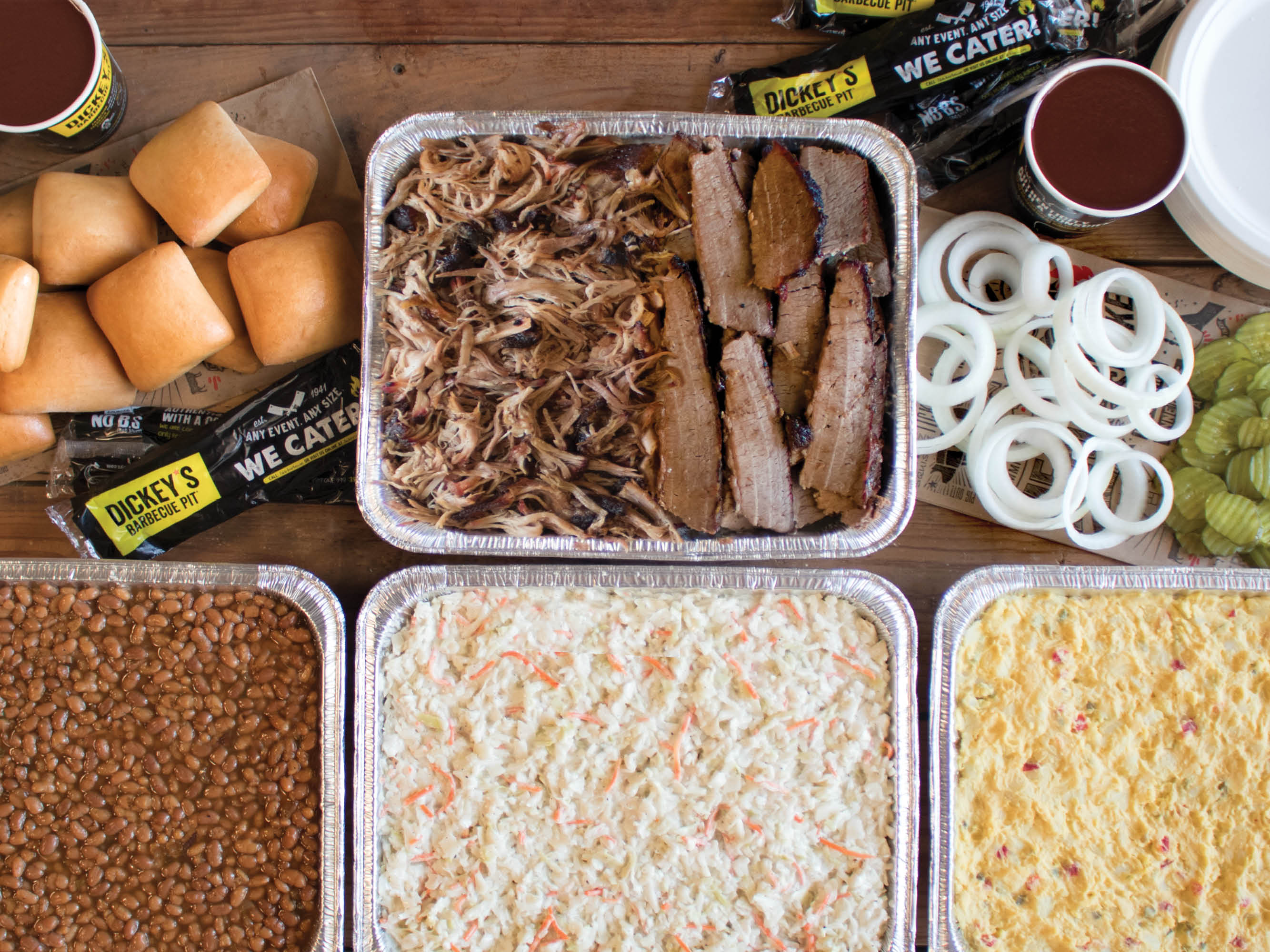 Meat + Poultry: Dickey's Barbecue Pit offers tailgate package for football season
