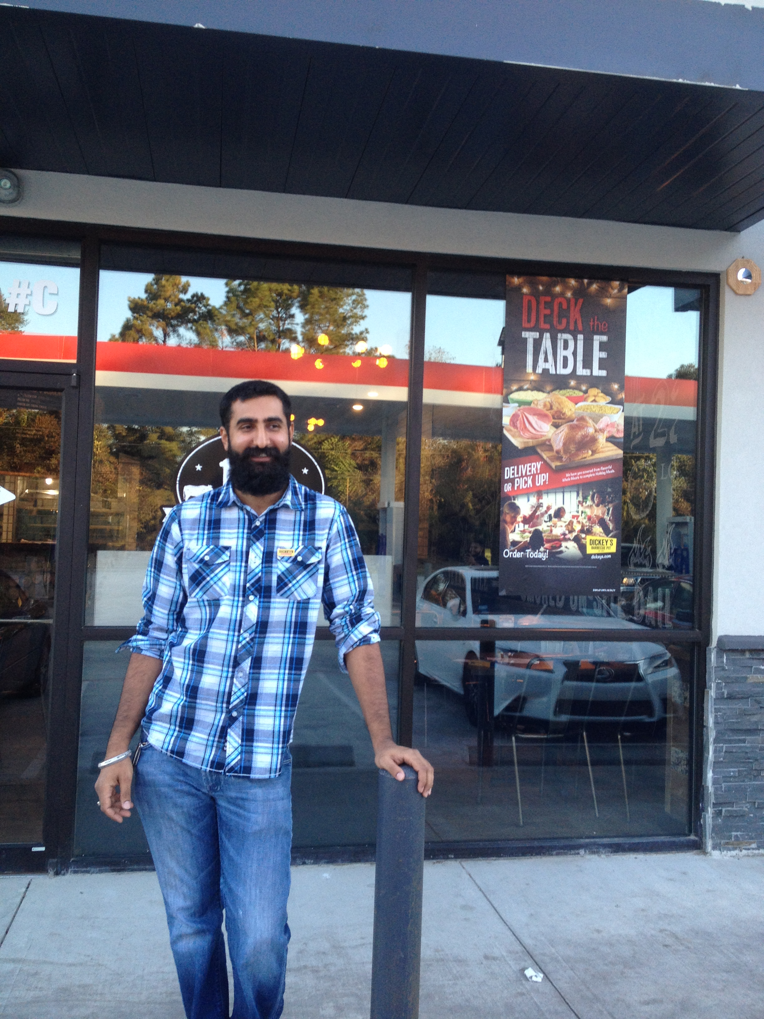Local Barbecue Fanatic Opens New Dickey's Location in Houston