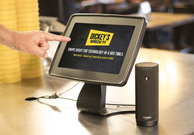 Central Valley Business Journal: Dickey's Barbecue integrates Alexa technology into restaurant operations
